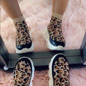 🐆🔥Leopard print sock shoe
